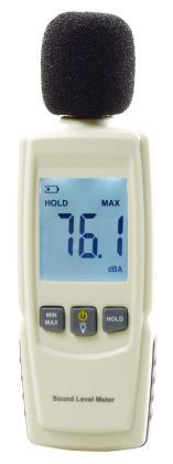 Sonomètre, Mesure de 30 à 130 décibels- Ecran LCD