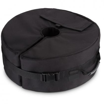 Sac de lestage pour parasol, Jusquà 50 kg - Etanchéité - Sangle de fixation - Sécurité