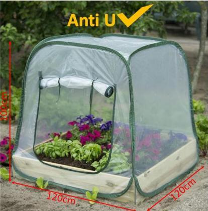 Serre ouverture instantanée, Pop Up - Anti UV - Coins emboitants