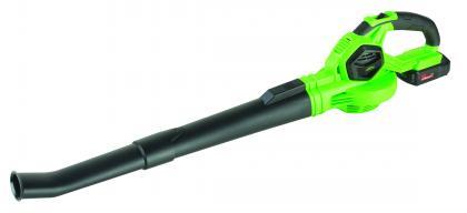 Souffleur de jardin 18V, Rechargeable lithium - 2 vitesses de souffle
