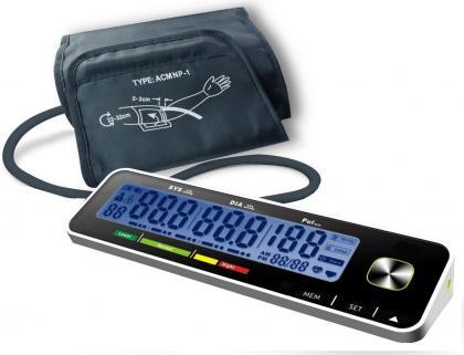 Tensiomètre pressure care, Grands Chiffres - Ecran LCD incliné - 2 Utilisateurs