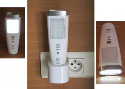 Torche avec détecteur, Lampe de poche