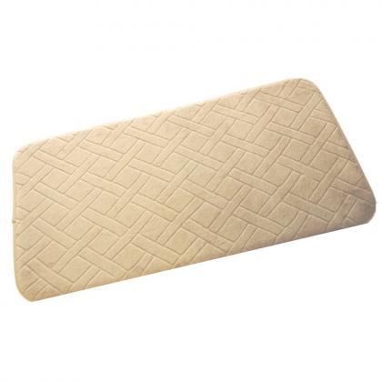 Tapis descente de lit, 45 x 85 cms, mousse à mémoire de forme