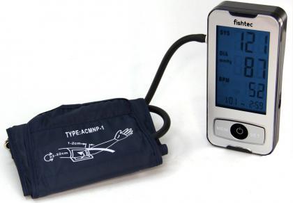 Tensiomètre Blue Smart Care, Grands chiffres - Ecran LCD bleu