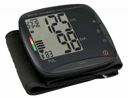 Tensiomètre poignet extra plat, Rapide - Ne comprime pas - Grand écran LCD