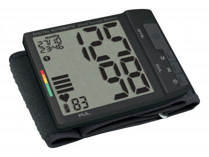 Tensiomètre poignet Big Screen, Rapide - Ne comprime pas - Grand écran LCD