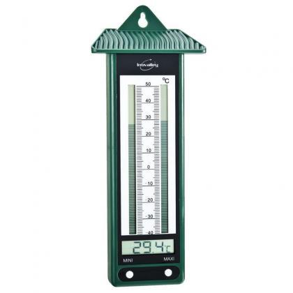 Thermomètre Mini Maxi - lot de 2, Affichage digital - Températures extrêmes
