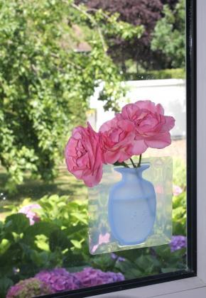 Vase magique, Vitrostatique - Réutilisable
