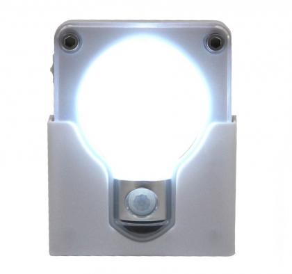 Veilleuse Sensor Light Bulb, Détecteur de présence - Transportable - 20 lumens - 4 LED